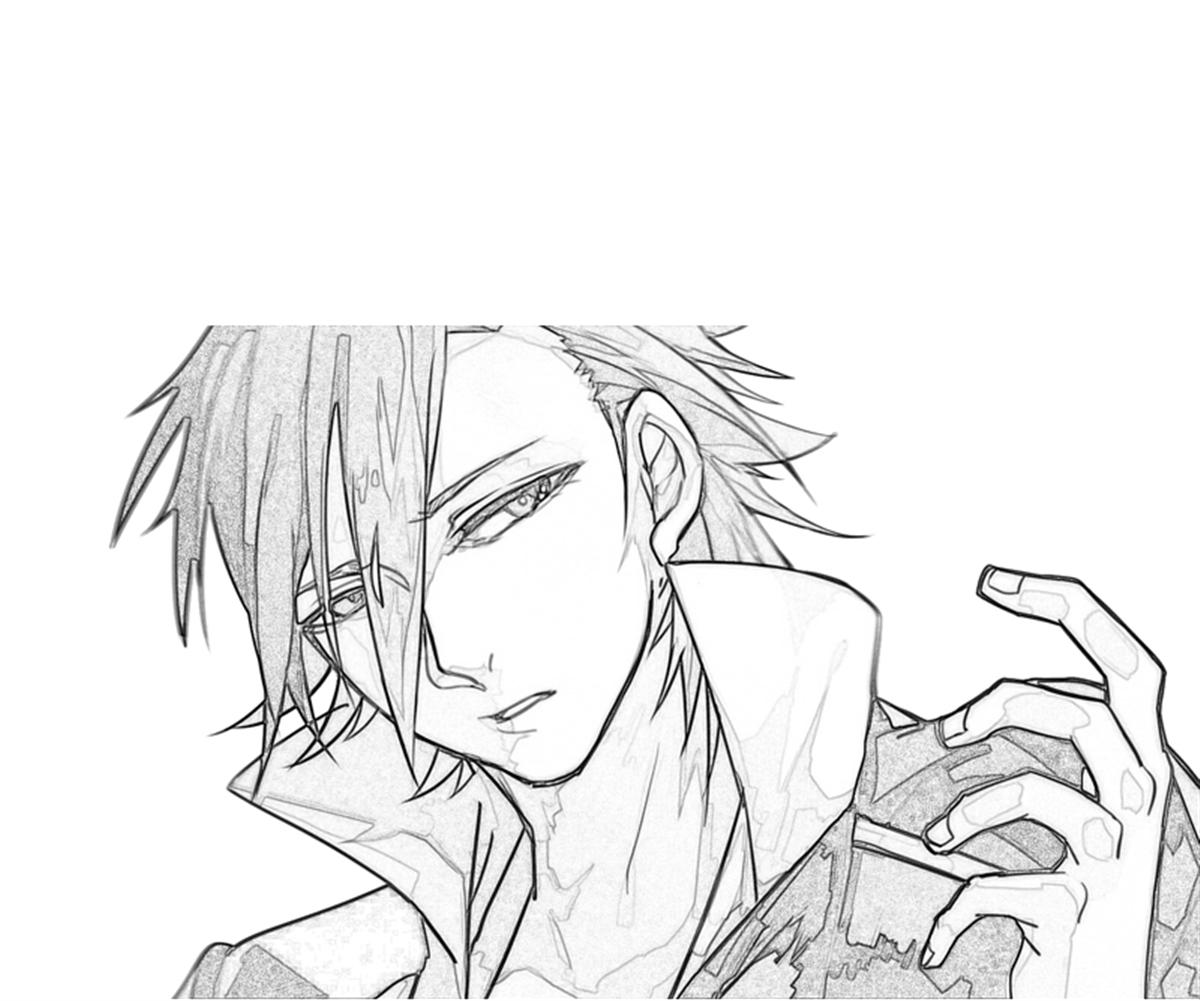 printable-saruhiko-fushimi-smile_coloring-pages-5