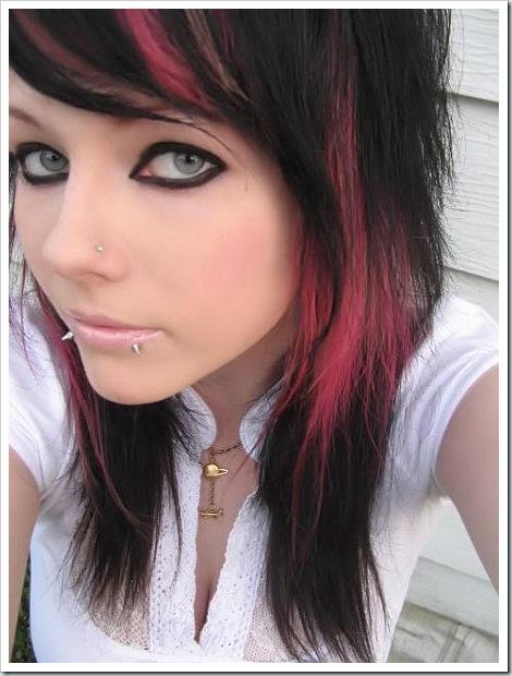 hairstyle emo girl. hairstyle emo girl. hairstyle