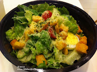 Ceasar Salad Souperlicious @ Suntec Outlet
