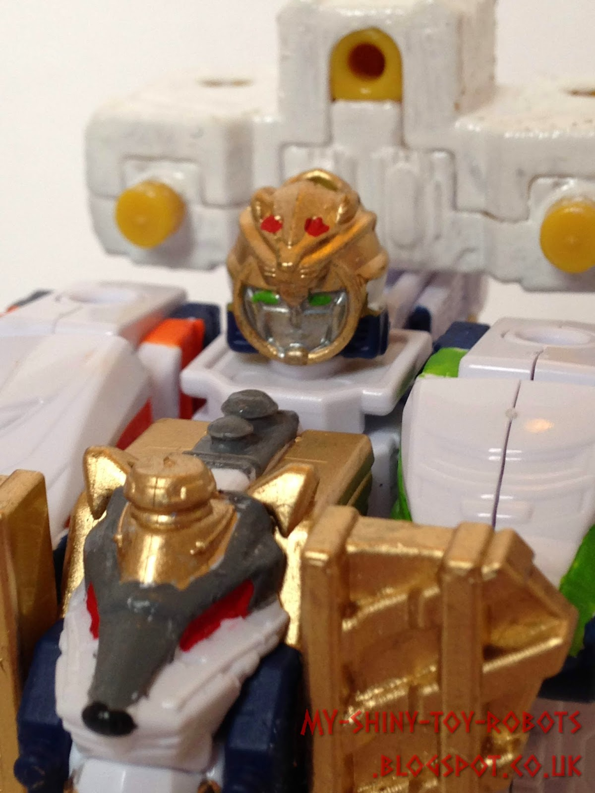 Minipla Safari GaOh from Ressha Sentai ToQger the Movie