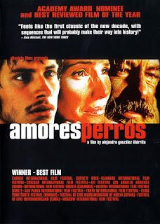 Amores Perros, Movie Poster, Alejandro Gonzalez Inarritu