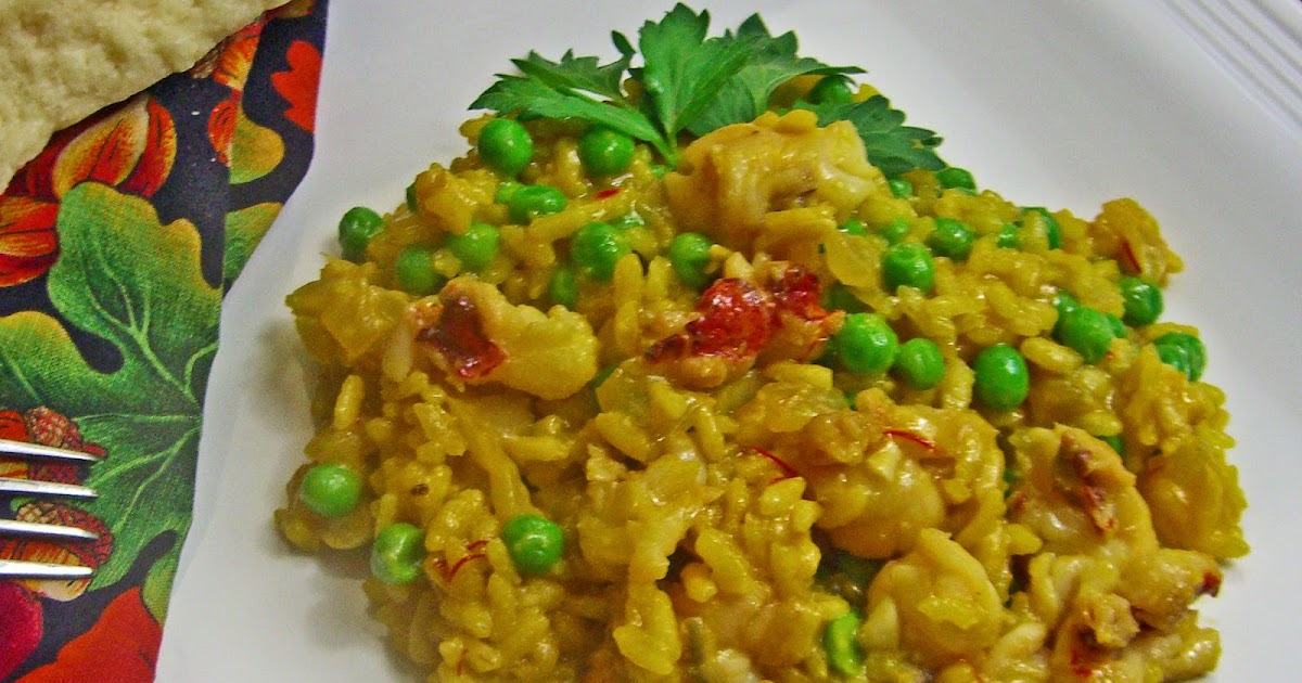 Lobster Risotto with Peas and Saffron | the DIY food blog - real recipes for real people