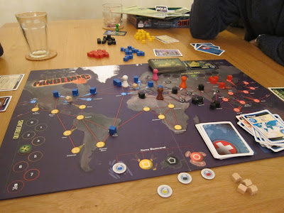 Pandemic - The board and components