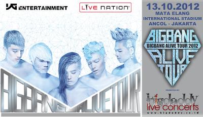 Konser Bigbang, Konser Bigbang jakarta 2012
