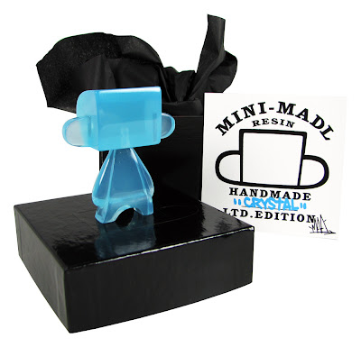 "Blue Crystal ""Breaking Bad Edition"" Resin Mini Mad'l by MAD"