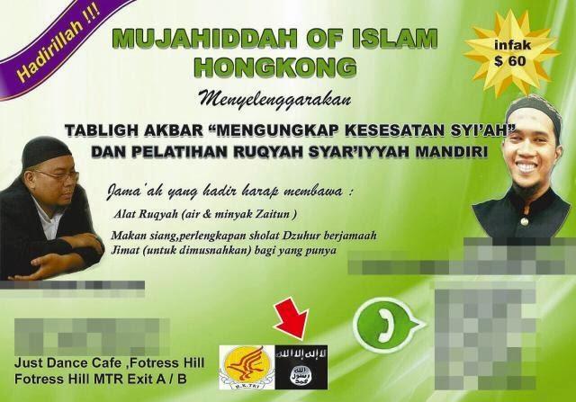 TKI Hong Kong Bantah Terlibat ISIS