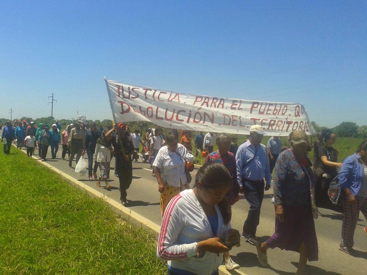 Pueblo qom comunidad amenazada