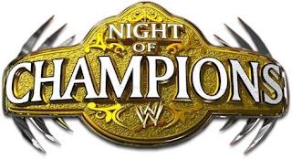 noche de campeones poster oficial para el año 2013, wwe ppv night of champions 2013 en español online latino