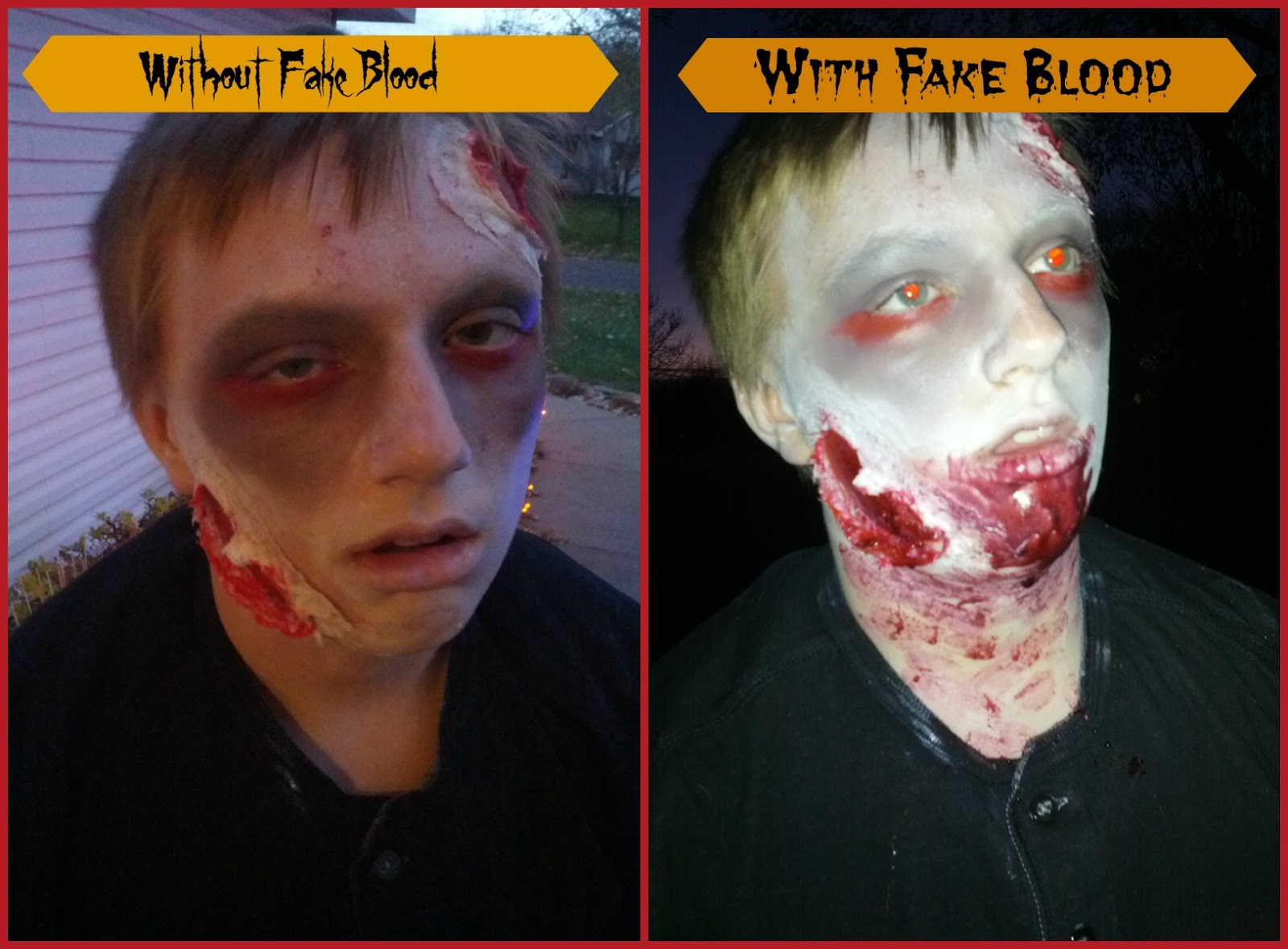 Realistic Zombie Face By Ivo Andric Grandma Agnes' Attic: How To Make  Your Little Pumpkinszombiesr Halloween