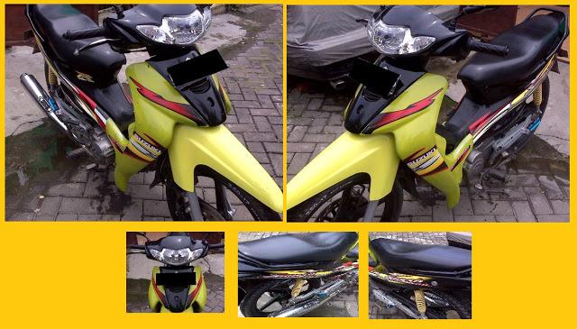 Beberapa contoh dari Gambar Modifikasi Motor ShogunR 110, yaitu; title=