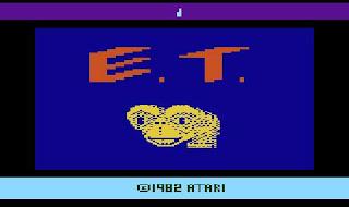 ET Atari pantalla de presentacion