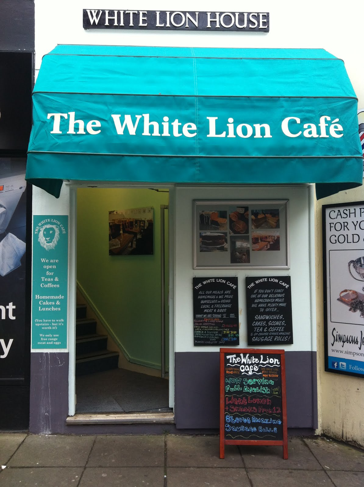 The Fry Up Inspector The White Lion Cafe Norwich