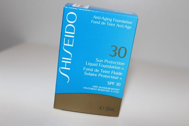 Shiseido Sun Protection tekući puder u nijansi SP60