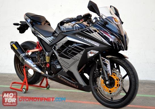 Data Modifikasi Kawasaki Ninja 250 Fi - Info kumpulan foto modifikasi  title=