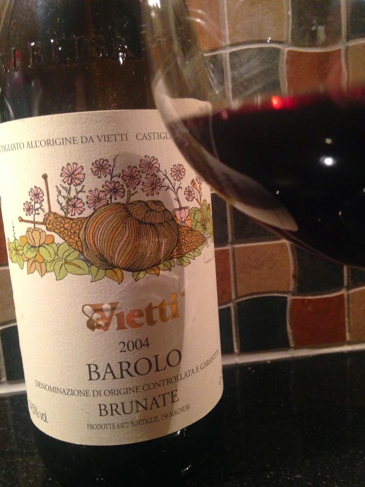 Barolo Brunate 2004 2004 Barolo Brunate Vietti