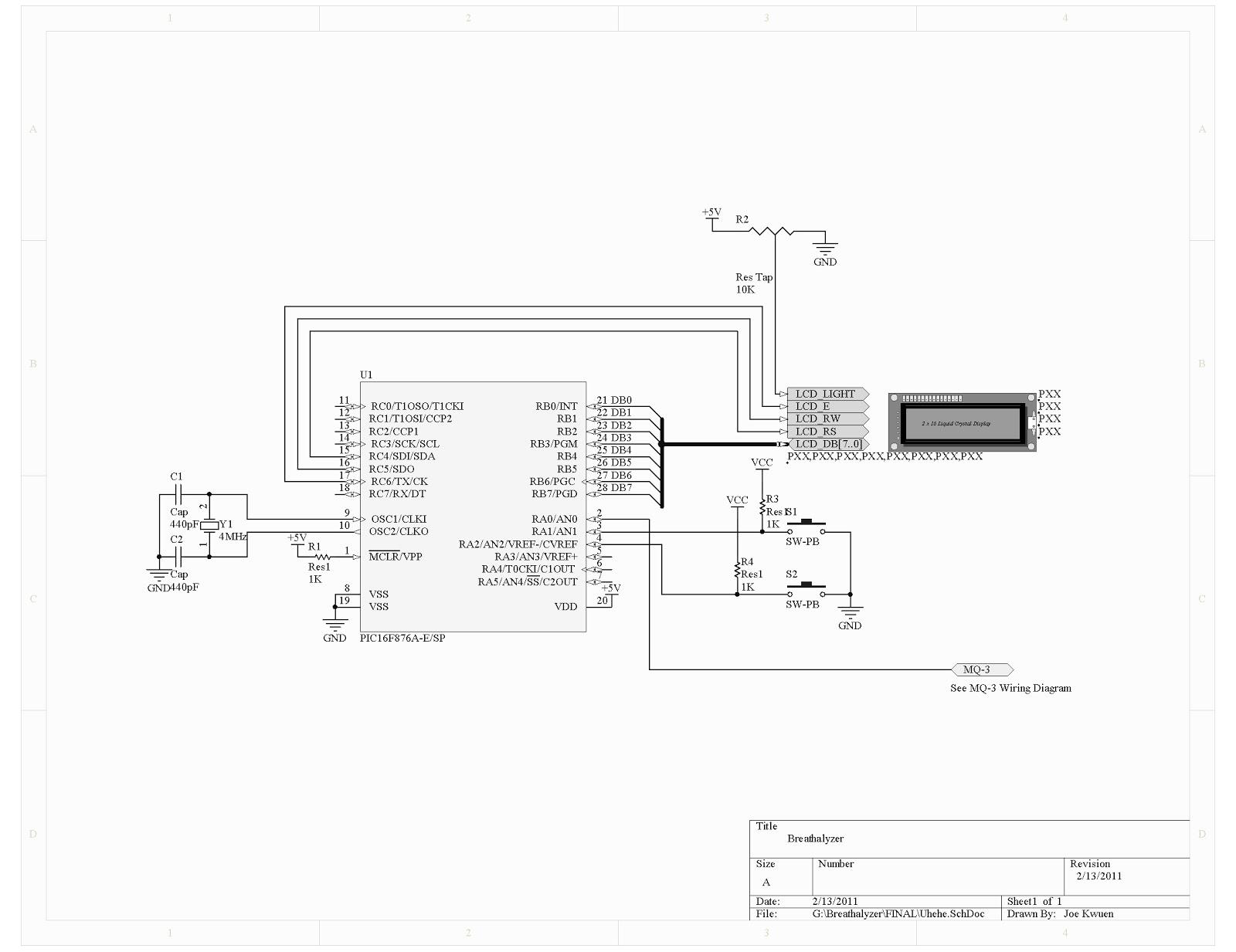 Rc4 Wiring Diagram Electrical Doorbell Circuit Basiccircuit Seekiccom Breathalyzer Basic U2022 Series And Parallel Circuits Diagrams