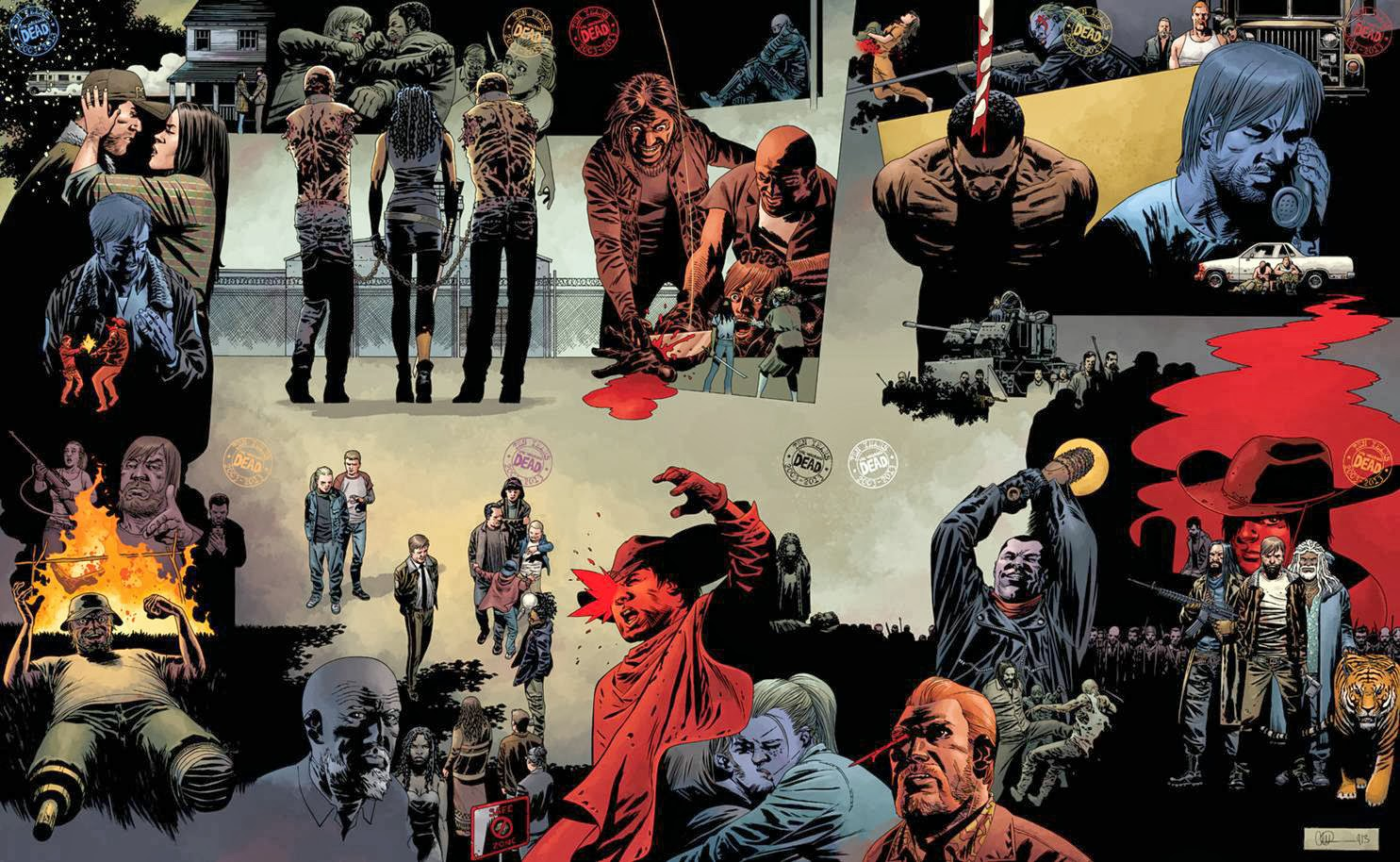 WALKING DEAD #115 ALL OUT WAR (TEN CONNECTING COVERS)