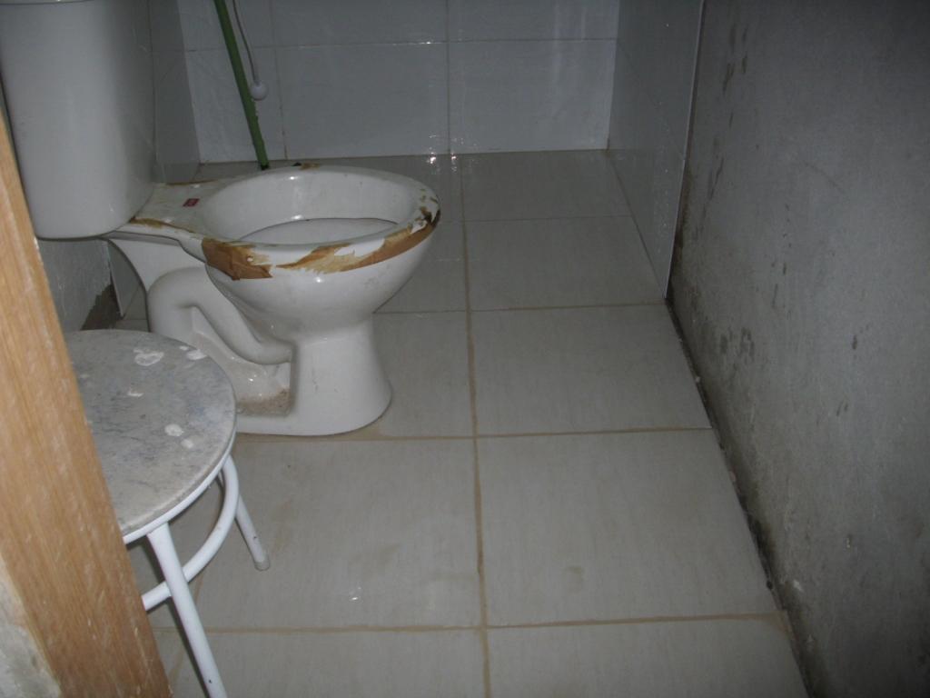 Saga do Banheiro V: Acabamentos Construindo Nossa House #826649 1024x768 Banheiro Azulejado