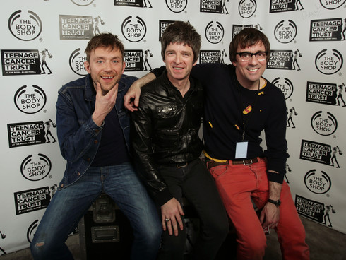 noel gallagher damon albarn, graham coxon oasis, blur oasis, noel damon, noel gallagher blur