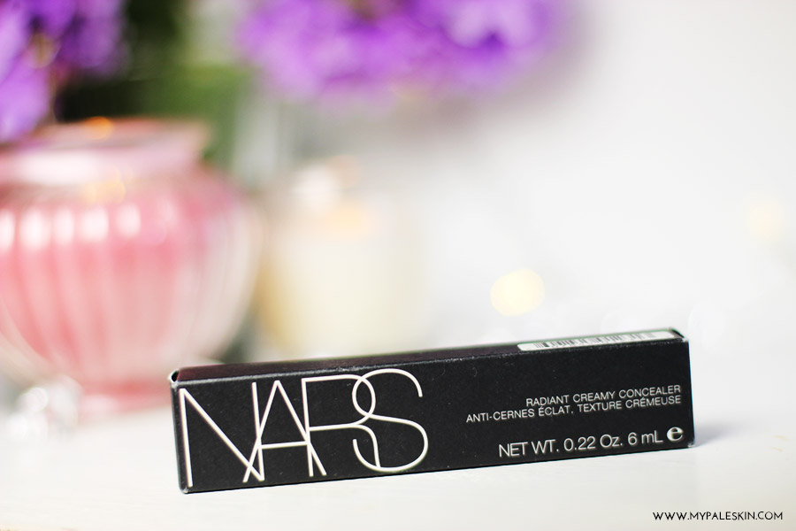 nars, radiant creamy concealer, chantilly, pale skin, pale skin concealer, my pale skin, haul, space nk