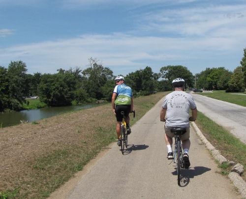Dayton bike trail