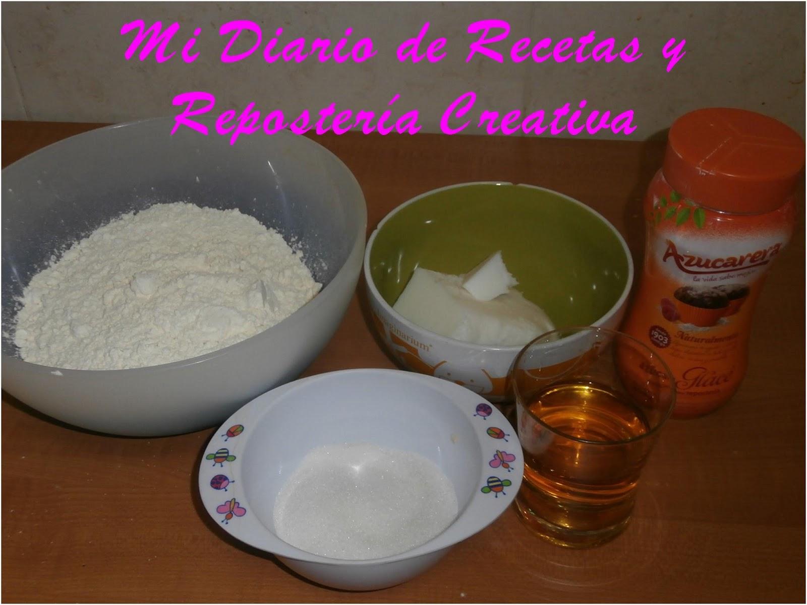 Mi diario de recetas y reposteria creativa nevaditos - Ingredientes reposteria creativa ...