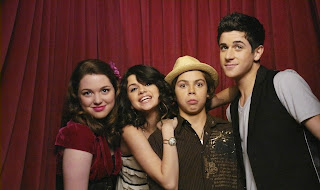 Austin,Jake T,Selena Gomez,Jennifer Stone and David Henrie