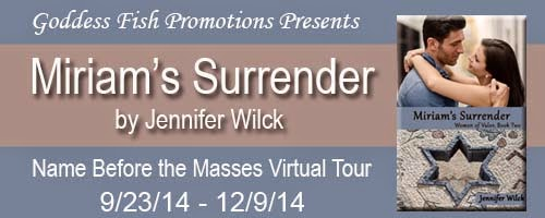 http://goddessfishpromotions.blogspot.com/2014/08/nbtm-tour-miriams-surrender-by-jennifer.html