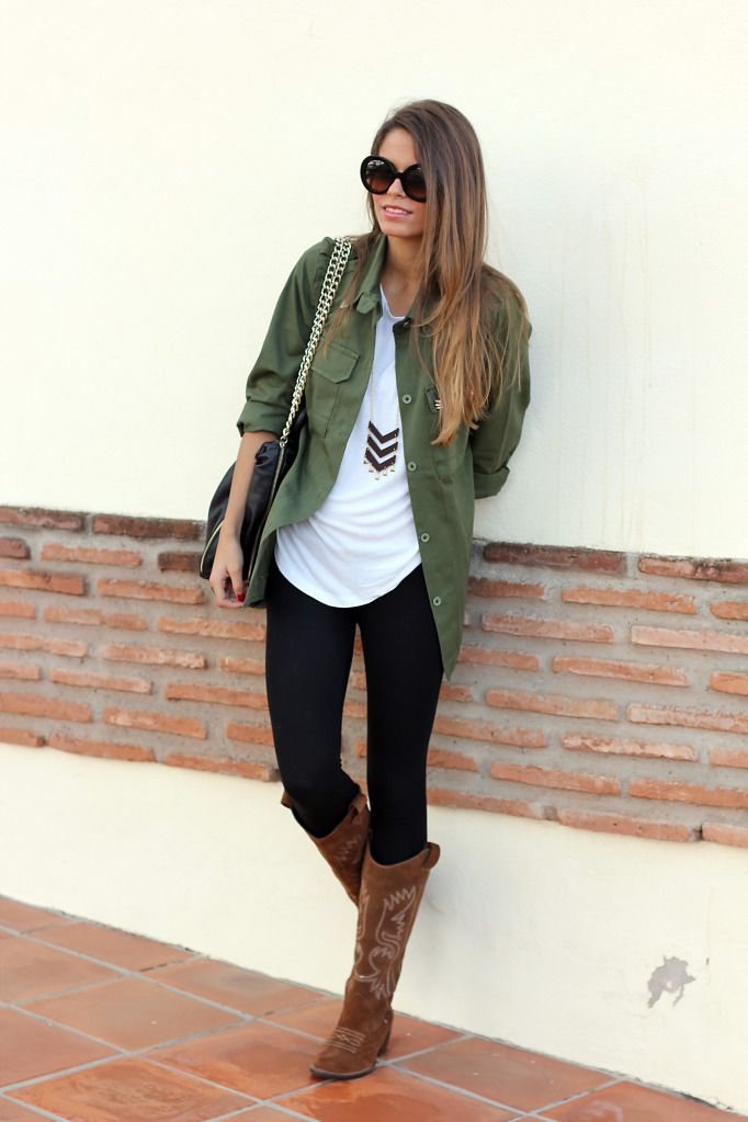 Adorable fall outfit for ladies