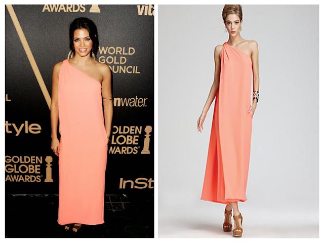 a filha do chefe Jenna Dewan-Tatum diane von furstenberg gown