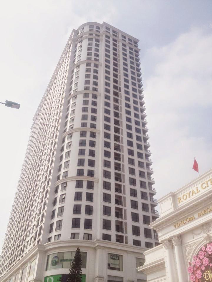 căn hộ hạng sang R6 -Vinhomes Royal City với giá từ 2,3 tỷ đồng