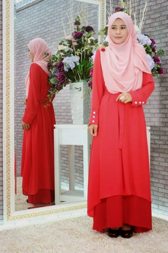 CHIFFON WITH FULL LINING DRESS TWO TONE Code 0238