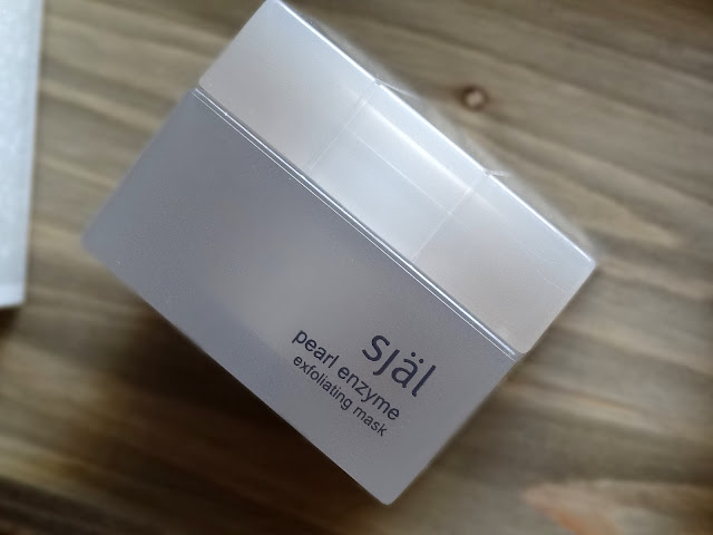 själ skincare Pearl Enzyme Exfoliating Mask
