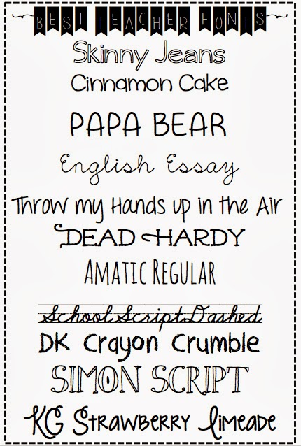 Silver Lining: best readable teacher fonts