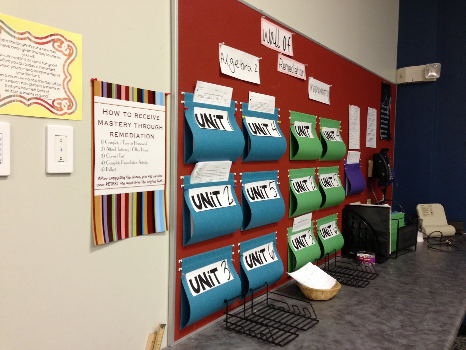 The secondary classroom can be fun too decorating my for Art classroom decoration ideas