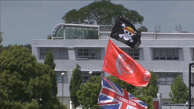 Mugiwara kaizoku flag