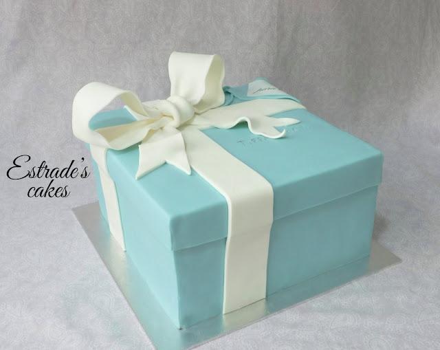 tarta caja de Tiffany 2