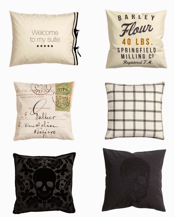 cojines H&M home