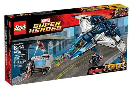 The Avengers Quinjet City Chase 76032 LEGO