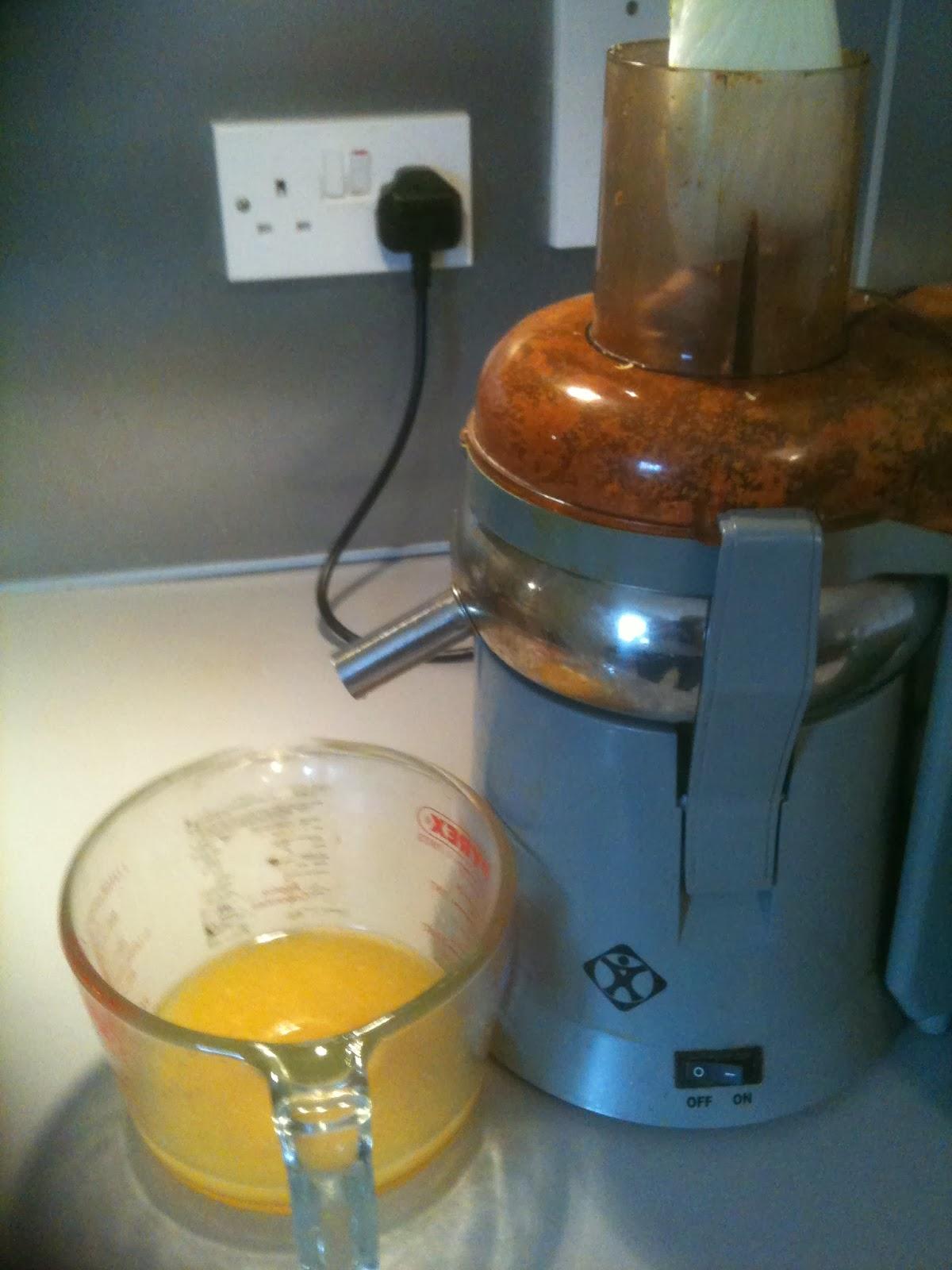 detox juice recipe oranges