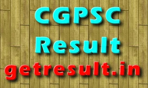 CGPSC Result 2014 Check Cut off Marks
