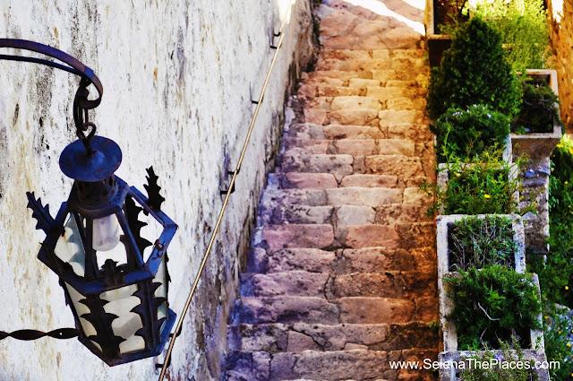 Stairway in Ronda Spain