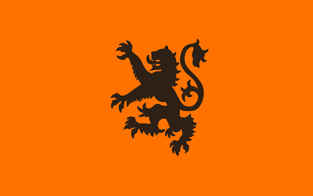 oranje wallpaper
