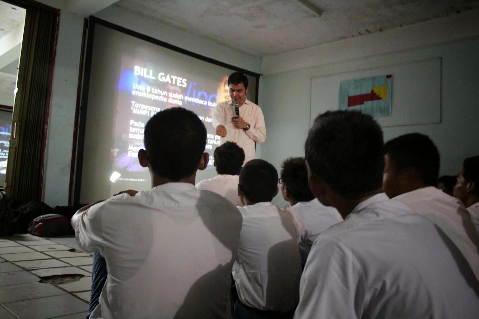 Seminar di SMK Mercusuar