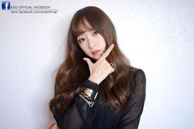 Hani EXID Anggota Girlband Korea paling cantik dan populer