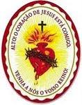 Leve com você este escudo do Sagrado Coração de Jesus
