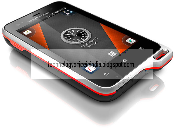 Sony Ericsson Xperia Active Feature, Specification and Price in India
