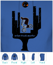 BMX Hoodie - Urban Trick Master