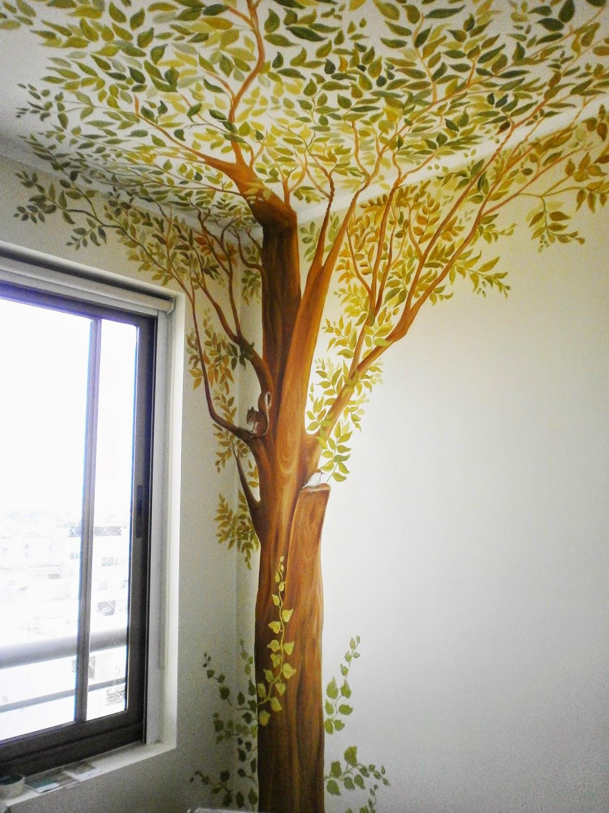 Cuadros artisticos pinturas decorativas y murales por raquel nievas - Murales pintados en la pared ...