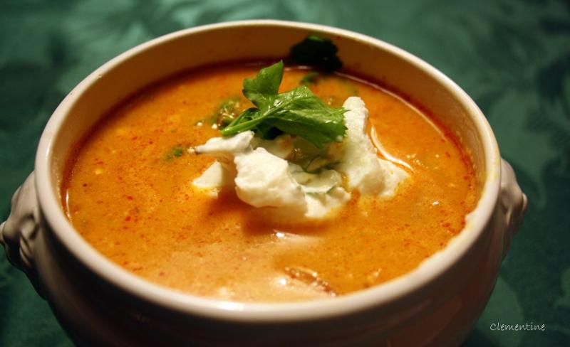 Le blog de clementine soupe de poisson aux pois chiches - Cuisine soupe de poisson ...
